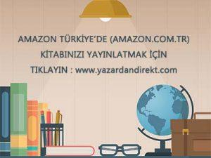Amazon'da Kitap Yayinla